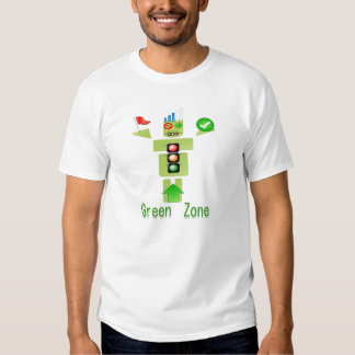 GREEN Zone Energy Efficient Only Tee Shirts