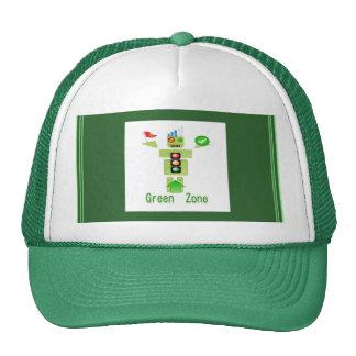 GREEN Zone Trucker Hats