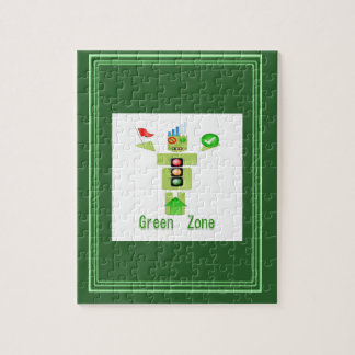 GREEN Zone Jigsaw Puzzle