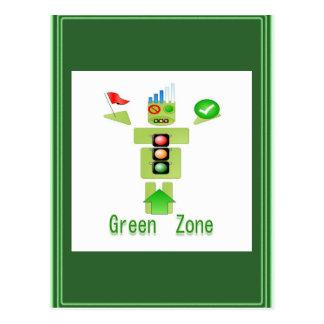 GREEN Zone Postcard