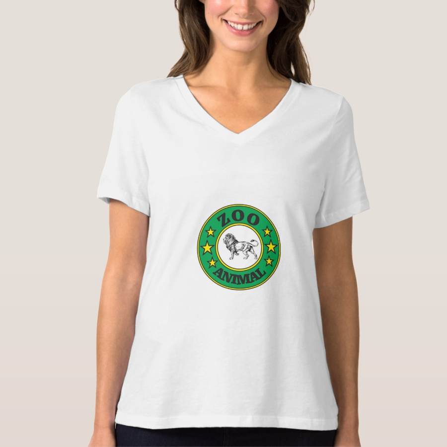 green zoo tag lion T-Shirt - Best Selling Long-Sleeve Street Fashion Shirt Designs