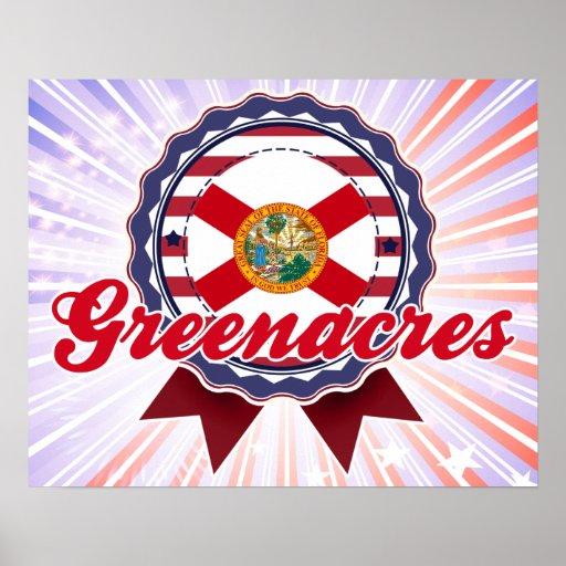 Greenacres, FL Poster