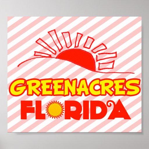 Greenacres, Florida Print