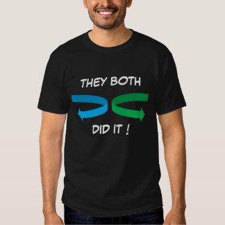 greenarrow, bluearrow, THEY BOTH, DID IT ! T-shirts