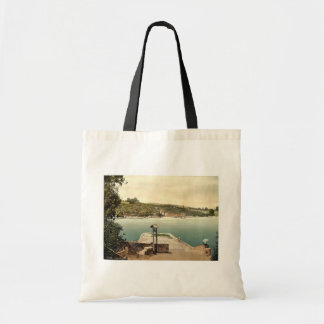 Greenaway Ferry, Dartmouth, England classic Photoc Canvas Bags