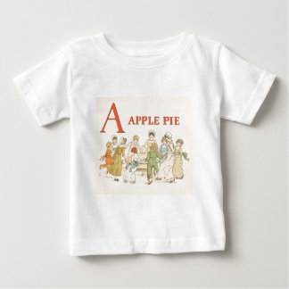 Greenaway, Kate (1846-1901) - A Apple Pie 1886 - A Baby T-Shirt