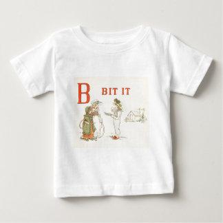 Greenaway, Kate (1846-1901) - A Apple Pie 1886 - B Baby T-Shirt