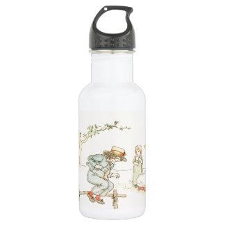Greenaway, Kate Alphabet Nursery Rhyme - J 18oz Water Bottle