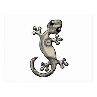 Greenback Gecko Postcard