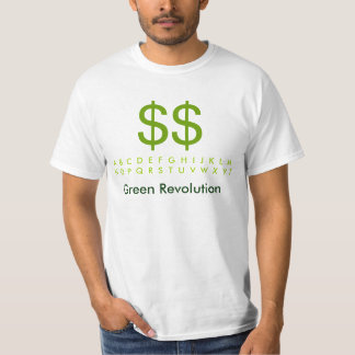GreenBack : Green Revolution FairTrade T-Shirt