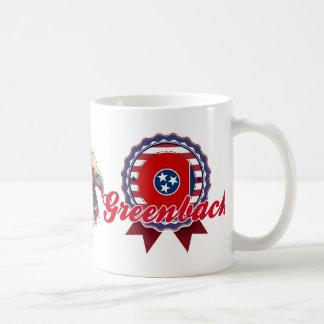 Greenback, TN Classic White Coffee Mug
