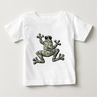 Greenbacks Frogs Baby T-Shirt