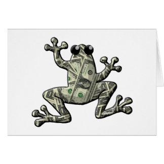 Greenbacks Frogs Card