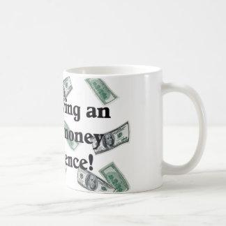 Greenbacks Classic White Coffee Mug