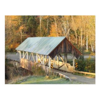 Greenbanks Hollow Covered Bridge Danville Vermont Postcard