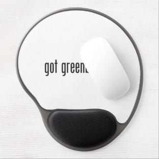 greenbeans conseguidos alfombrilla de raton con gel