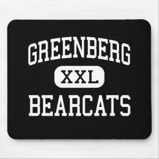 Greenberg - Bearcats - High - Fresno California Mouse Mat