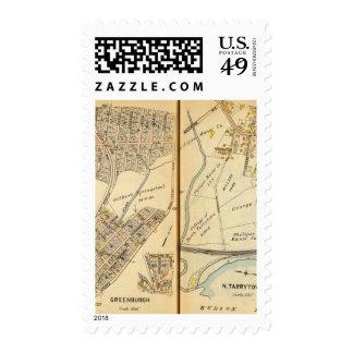 Greenburg, New York 13 Postage Stamp
