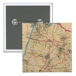 Greenburg, New York 14 Pinback Button