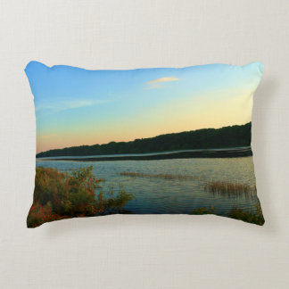 Greenbush, Maine at Twilight Accent Pillow