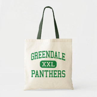 Greendale - Panthers - High - Greendale Wisconsin Canvas Bags