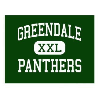 Greendale - Panthers - High - Greendale Wisconsin Postcard
