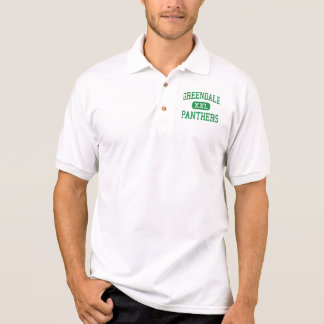 Greendale - Panthers - High - Greendale Wisconsin Polo Shirts