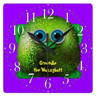 Greendle el reloj del dibujo animado de la diversi