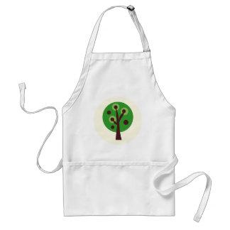 GreenDotTrees14 Adult Apron