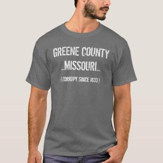 Greene County, Springfield, Missouri T-Shirt