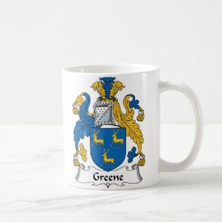Greene Family Crest Coffee Mug