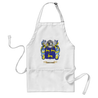 Greener Coat of Arms (Family Crest) Aprons