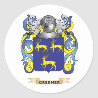 Greener Coat of Arms (Family Crest) Stickers