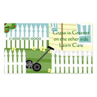 Greener Grass Double-Sided Standard Business Cards (Pack Of 100)