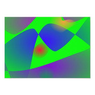 "Greener 5"" X 7"" Invitation Card"