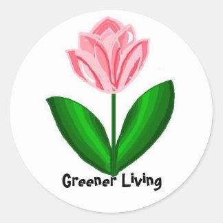 Greener Living...stickers