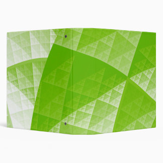 Greenery abstract pattern binder