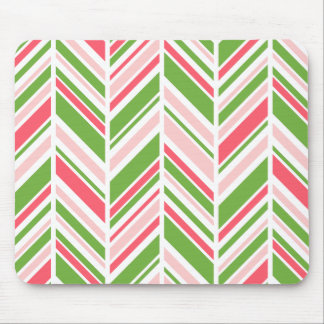 Greenery, Calypso Coral and Rose Quartz Mouse Pad