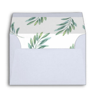 Greenery Envelope