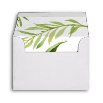 Greenery Envelope, RSVP, Thank You, Envelope