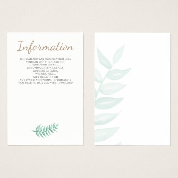 Greenery Laurel wedding cards