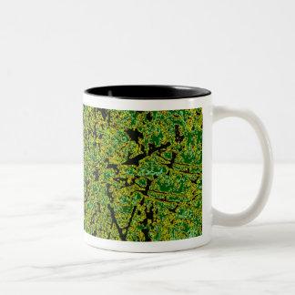 Greenery Coffee Mugs