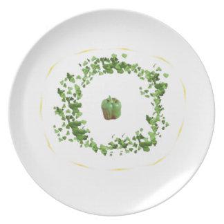 Greenery Plate