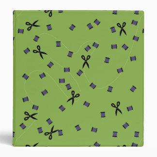 Greenery Sewing Notions Binder