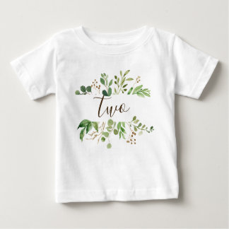 Greenery two years old baby baby T-Shirt