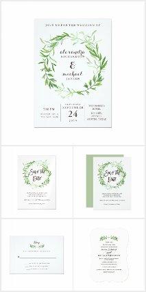 Greenery Wedding Collection