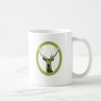 Greenery Wild Deer Coffee Mug