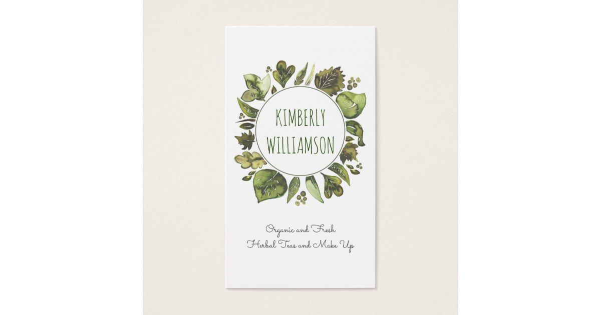 Laurel Wreath Business Cards & Templates   Zazzle