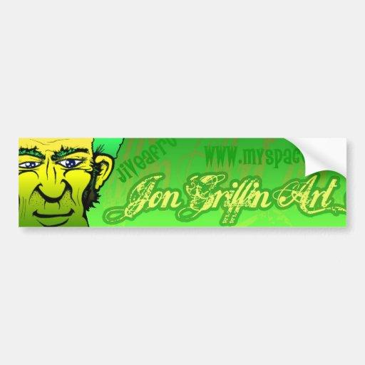 GreenEyes Bumper Sticker