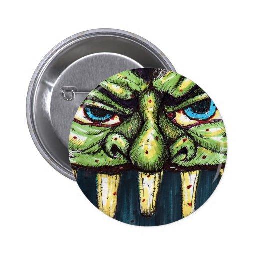 greenface pinback buttons